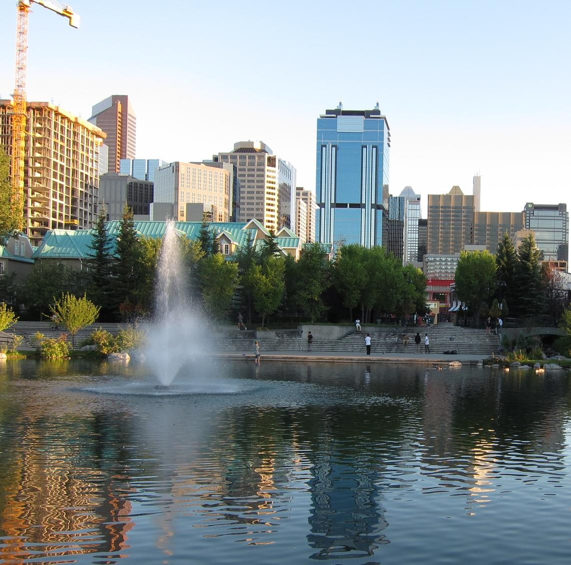 Water brings life to the city of Calgary